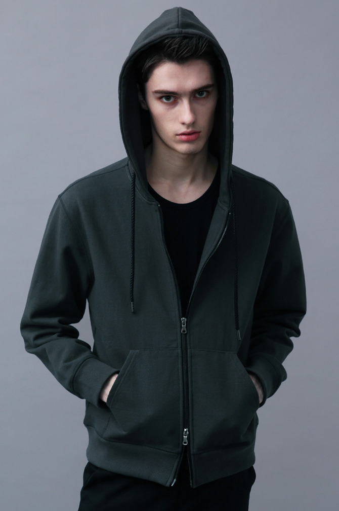 Premium Hard Hood Zip-Up