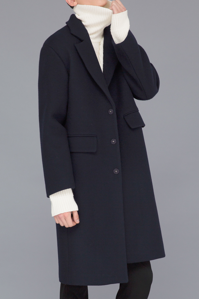 Premium Felt Semi-Over Coat(30%Sale)