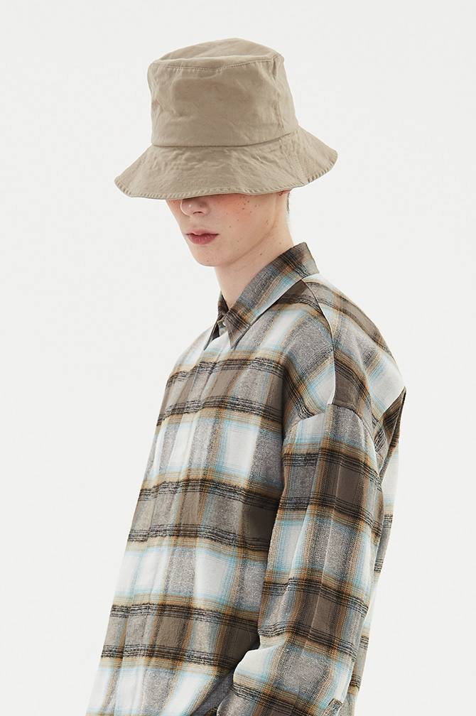 AUTHENTIC BUCKET HAT brown
