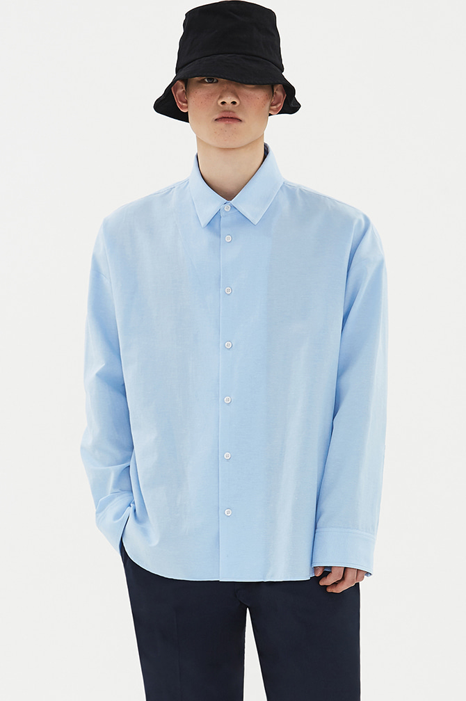 STANDARD LOOSE FIT SHIRTS blue