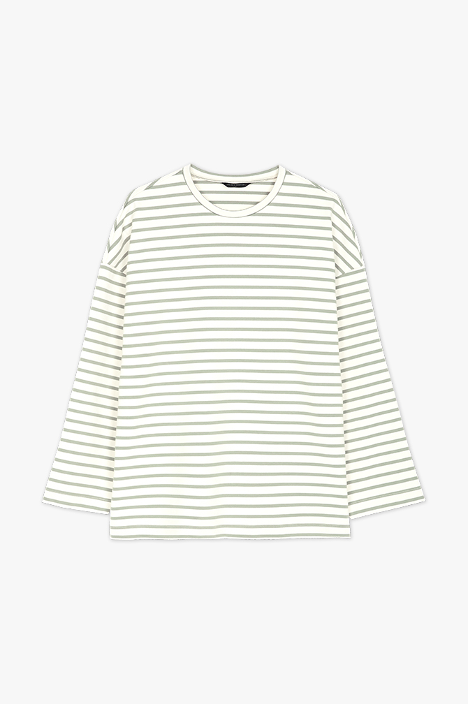 OVER FIT STRIPE T-SHIRTS주간 베스트셀러