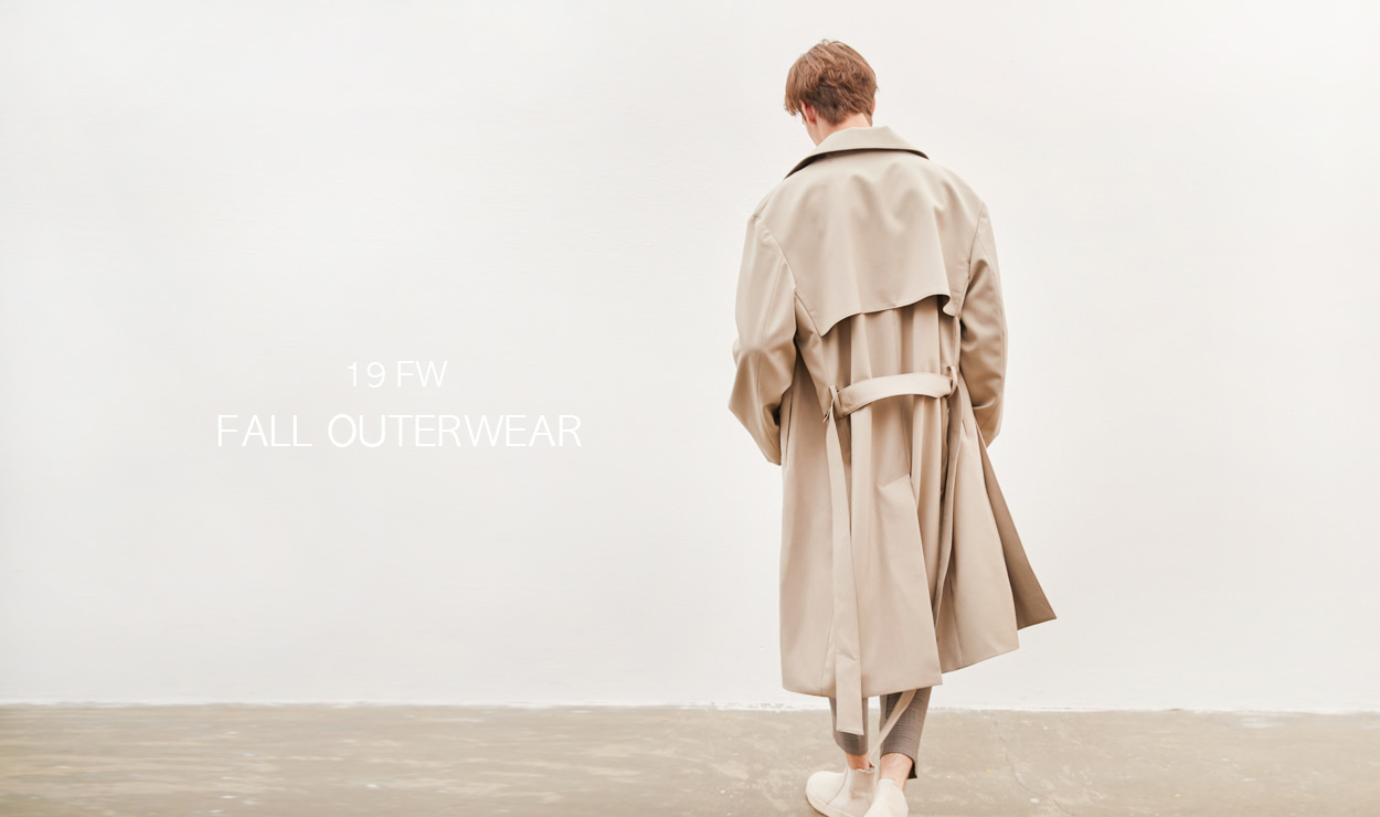 19FW OUTER MINIMAL - 더니트컴퍼니