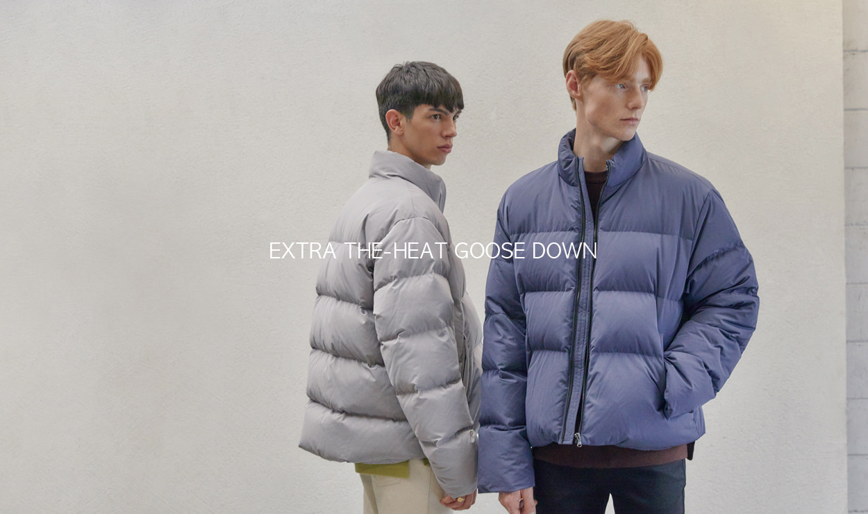 19FW EXTRA THE-HEAT GOOSE DOWN - 더니트컴퍼니