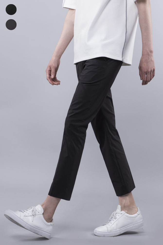 17ss Crop Banding Chino Pantsspecial price