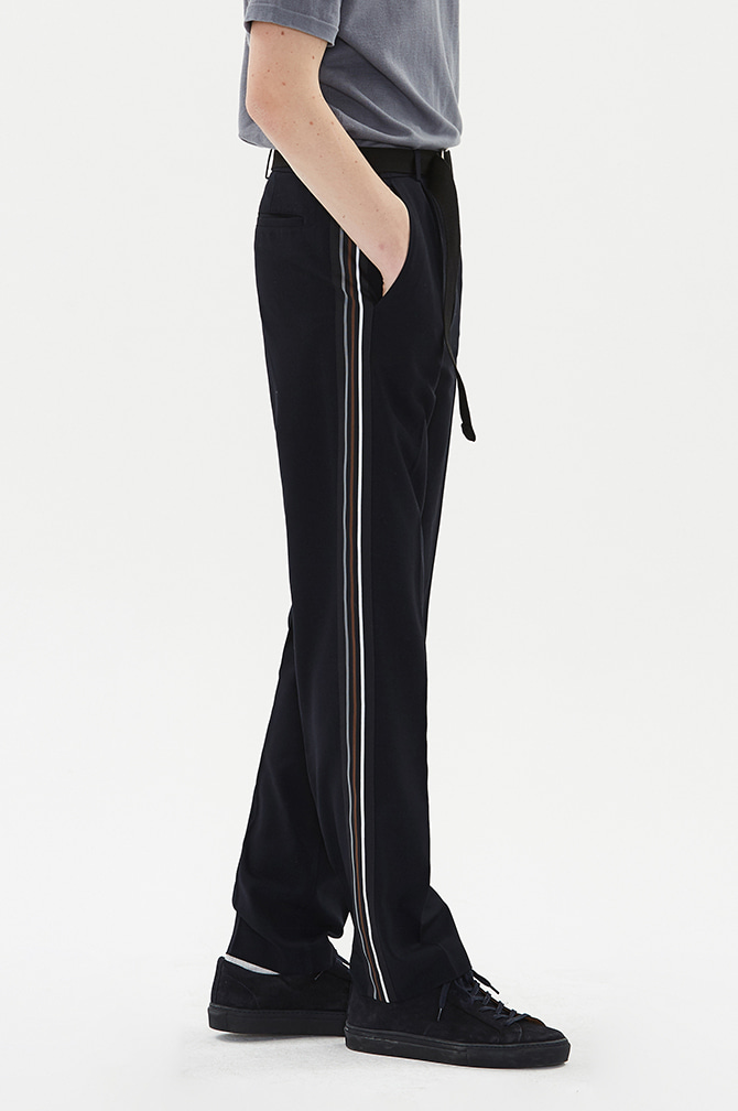 LINE SEMI WIDE SLACKS