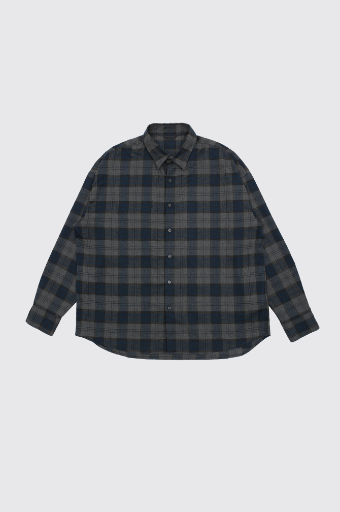 CHECK FLANNEL OVER SHIRTS